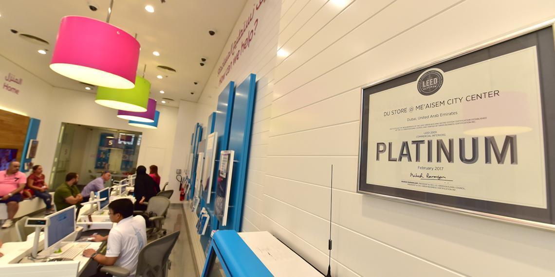 Telecom Review - du's retail network goes greener as du store @ Me