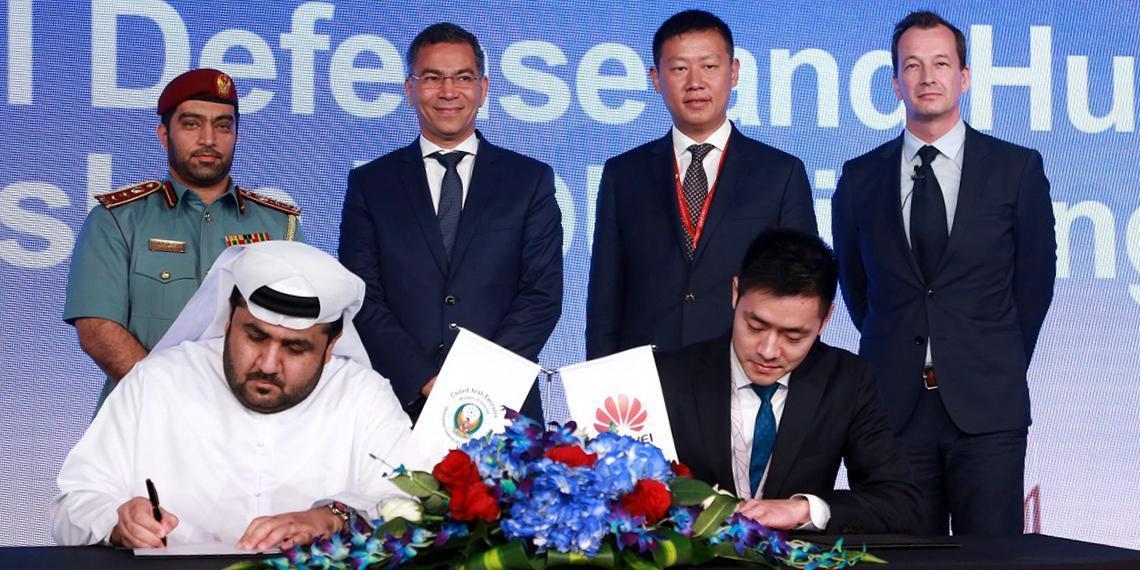 Telecom Review - Dubai Civil Defence and Huawei collaborate