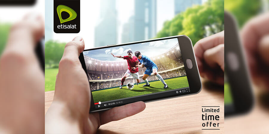 Telecom Review - Etisalat launches unlimited video streaming